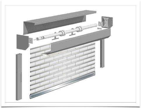 شفت داخلی کرکره برقی