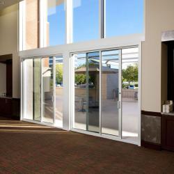 درب برقی شیشه ای اتوماتیک