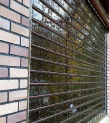 درب اتوماتیک کرکره ای پلی کربنات پنجره ای